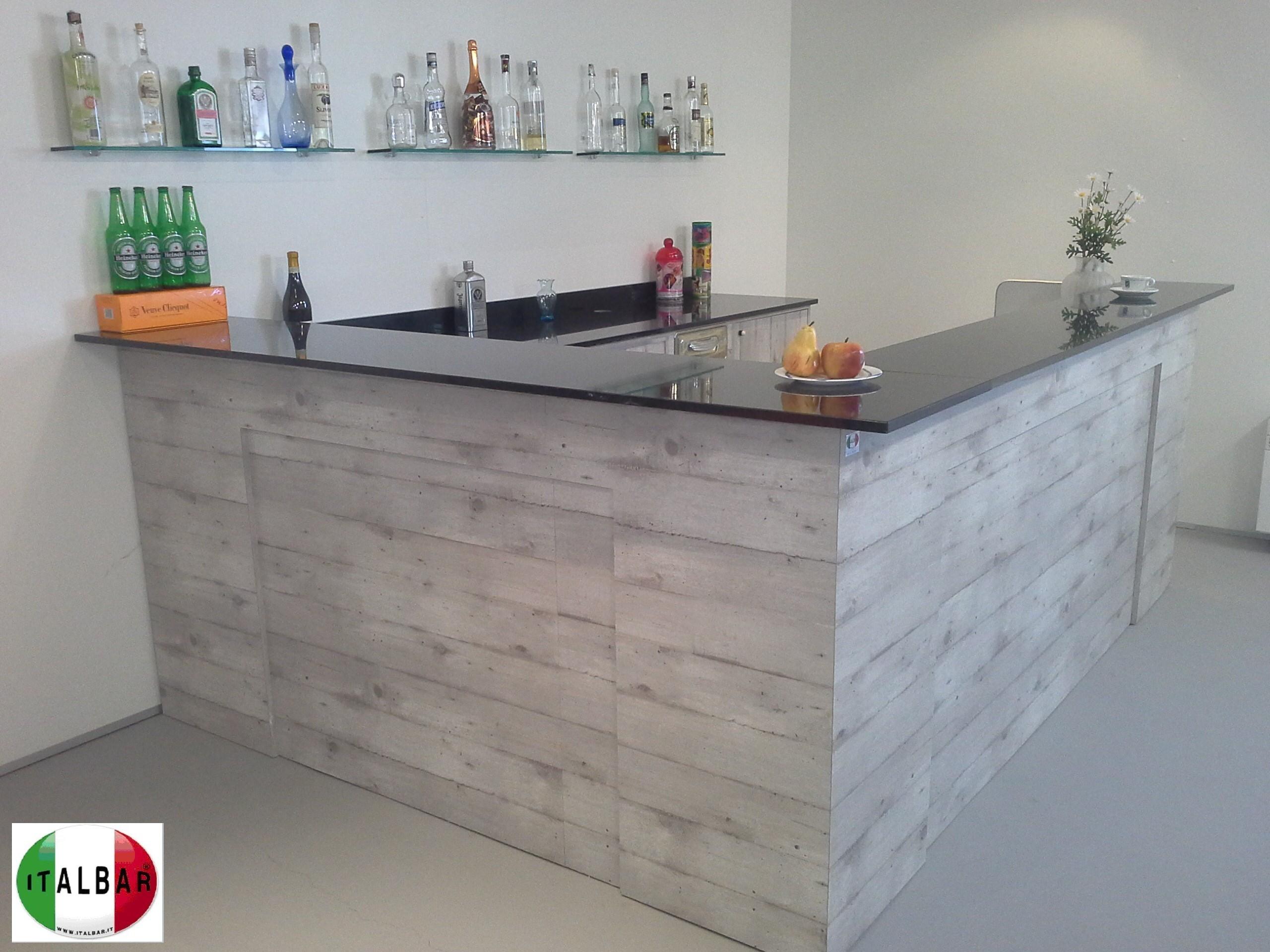 Banchi bar produttori banchi bar grezzi e rivestiti for Banchi bar e arredamenti completi