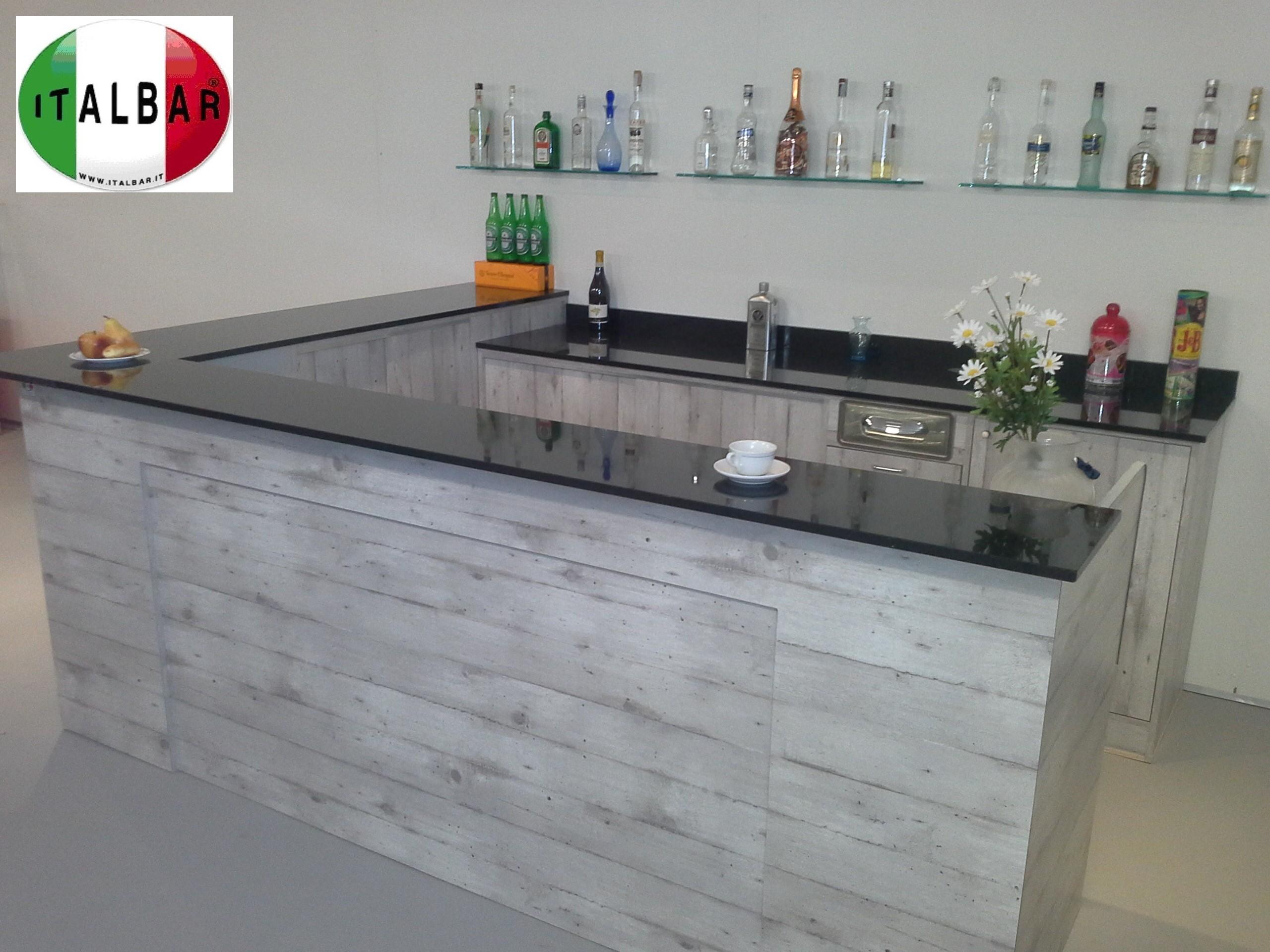 Banchi bar produttori banchi bar grezzi e rivestiti for Bancone bar inglese