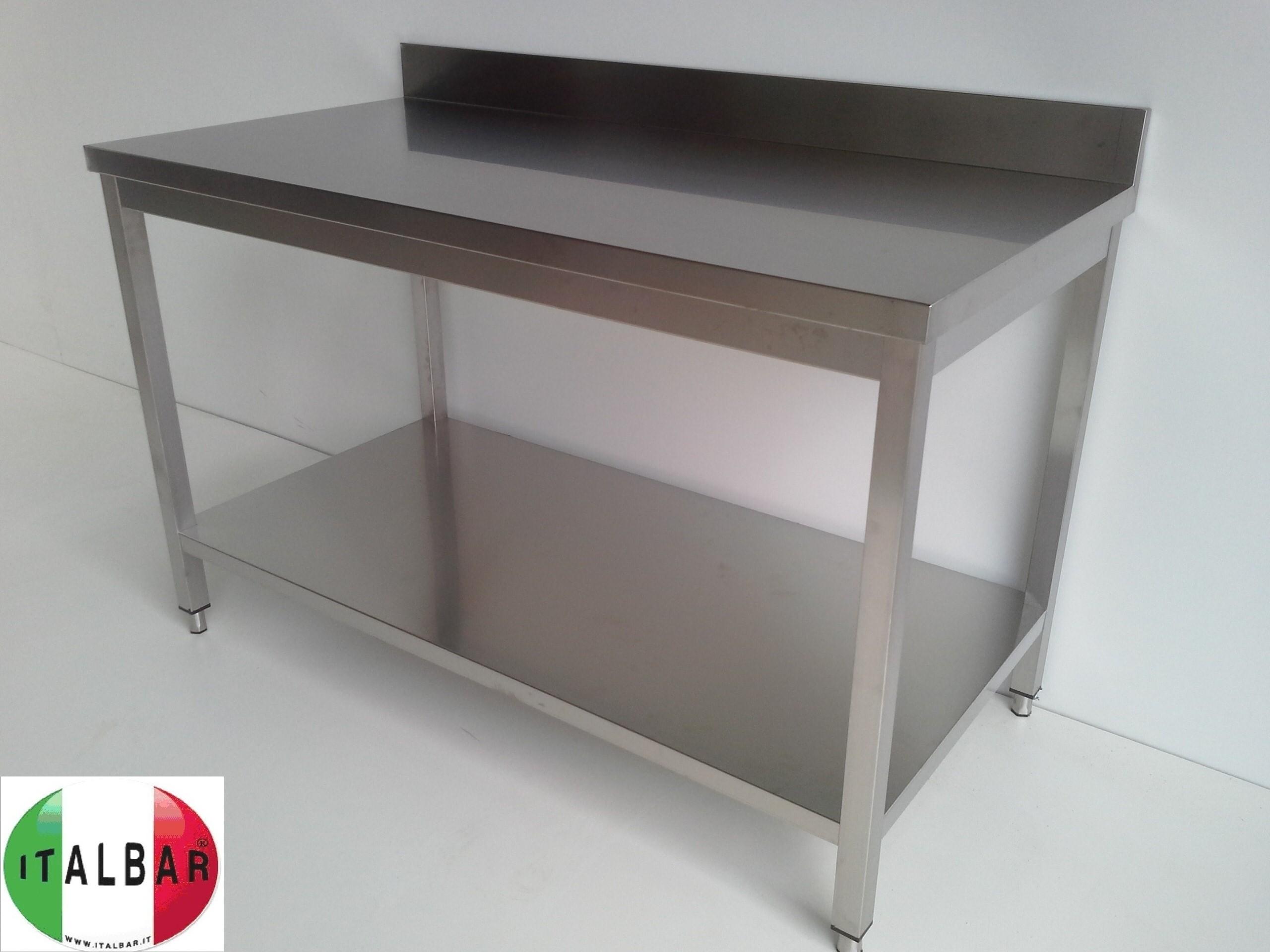Suarez cica italian pasta tavolo acciaio argento